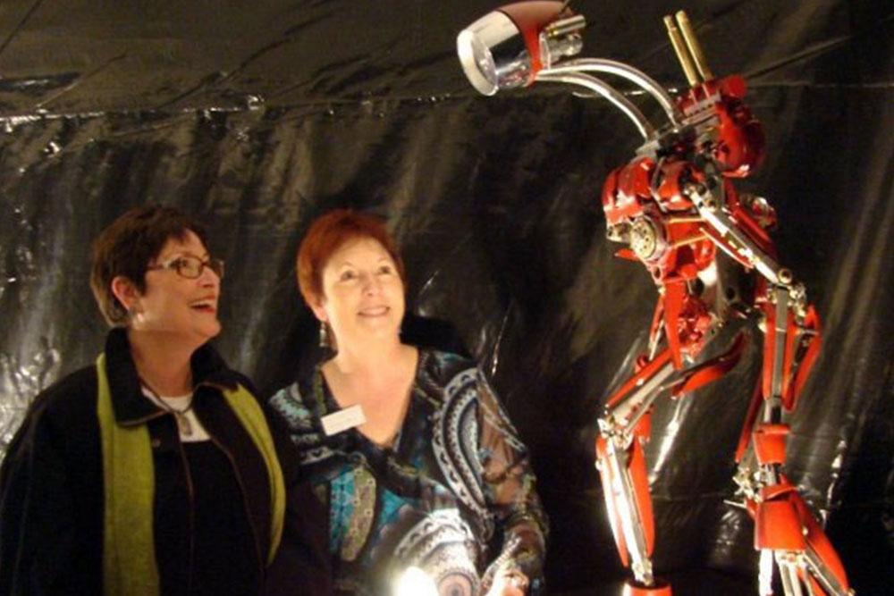 Apollo Thunderbot at Truax Gallery