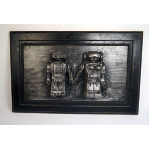 Love Bots Karbon Kast by Truax Designs